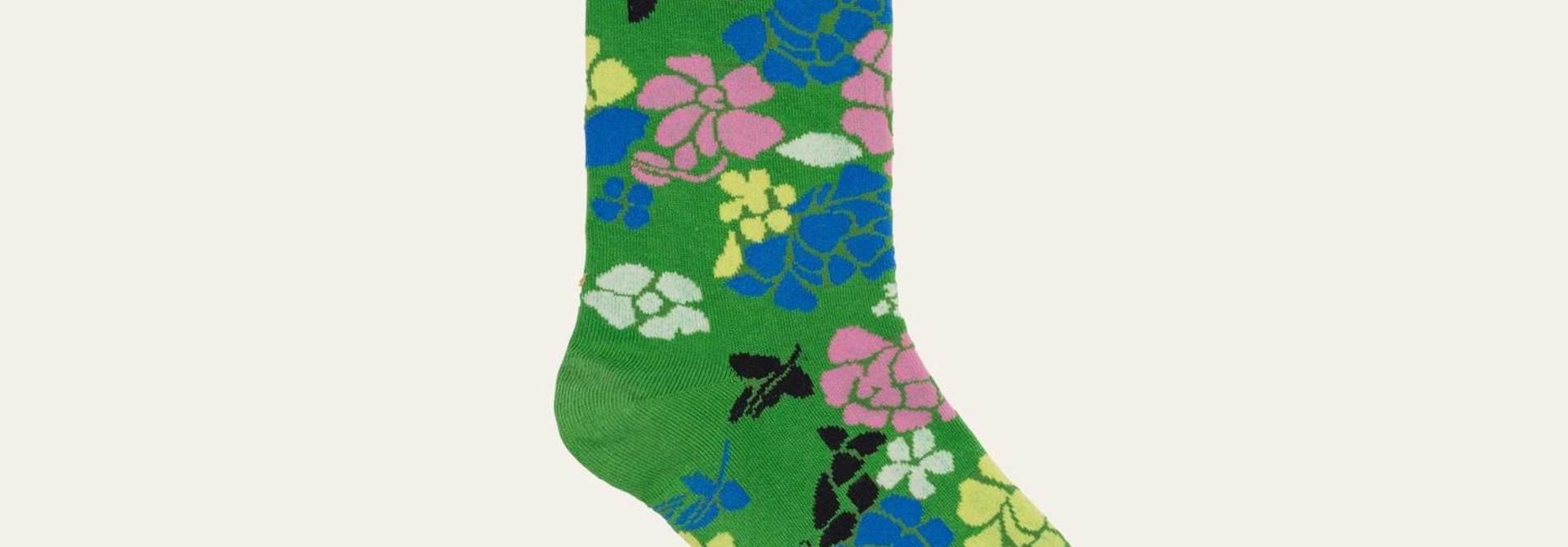Caty socks Banan leaf