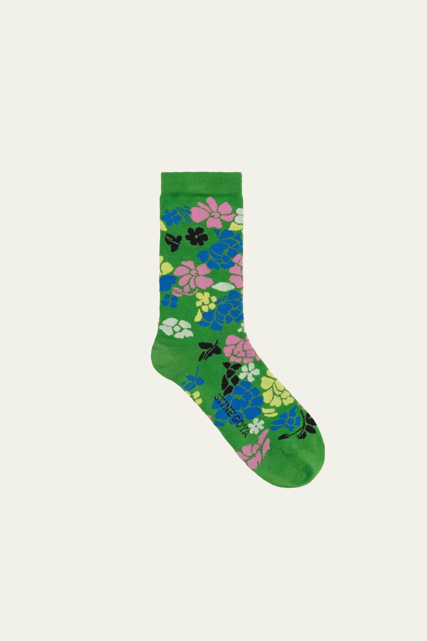 Caty socks Banan leaf-1