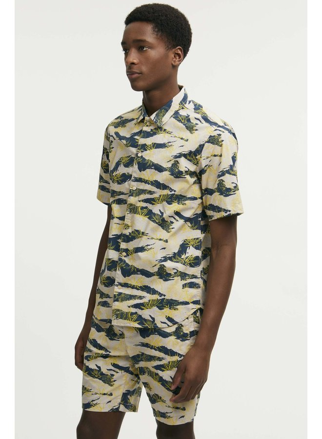 Carlton shirt tiger print