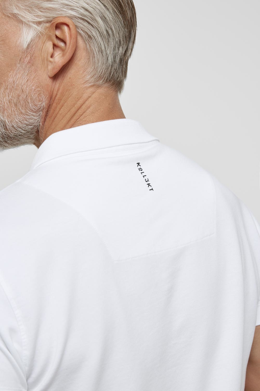 High comfort Lyocell Polo white-3