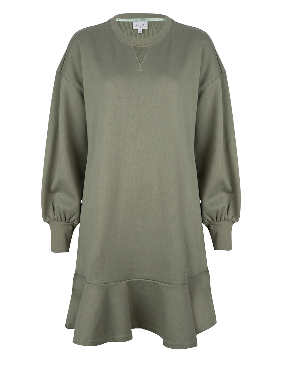 Josefine dress sage green-1