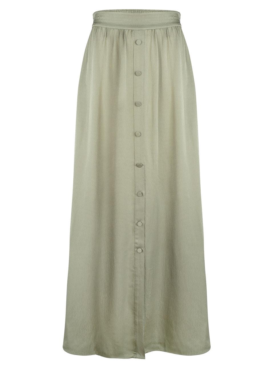 cooper long skirt sage green-1