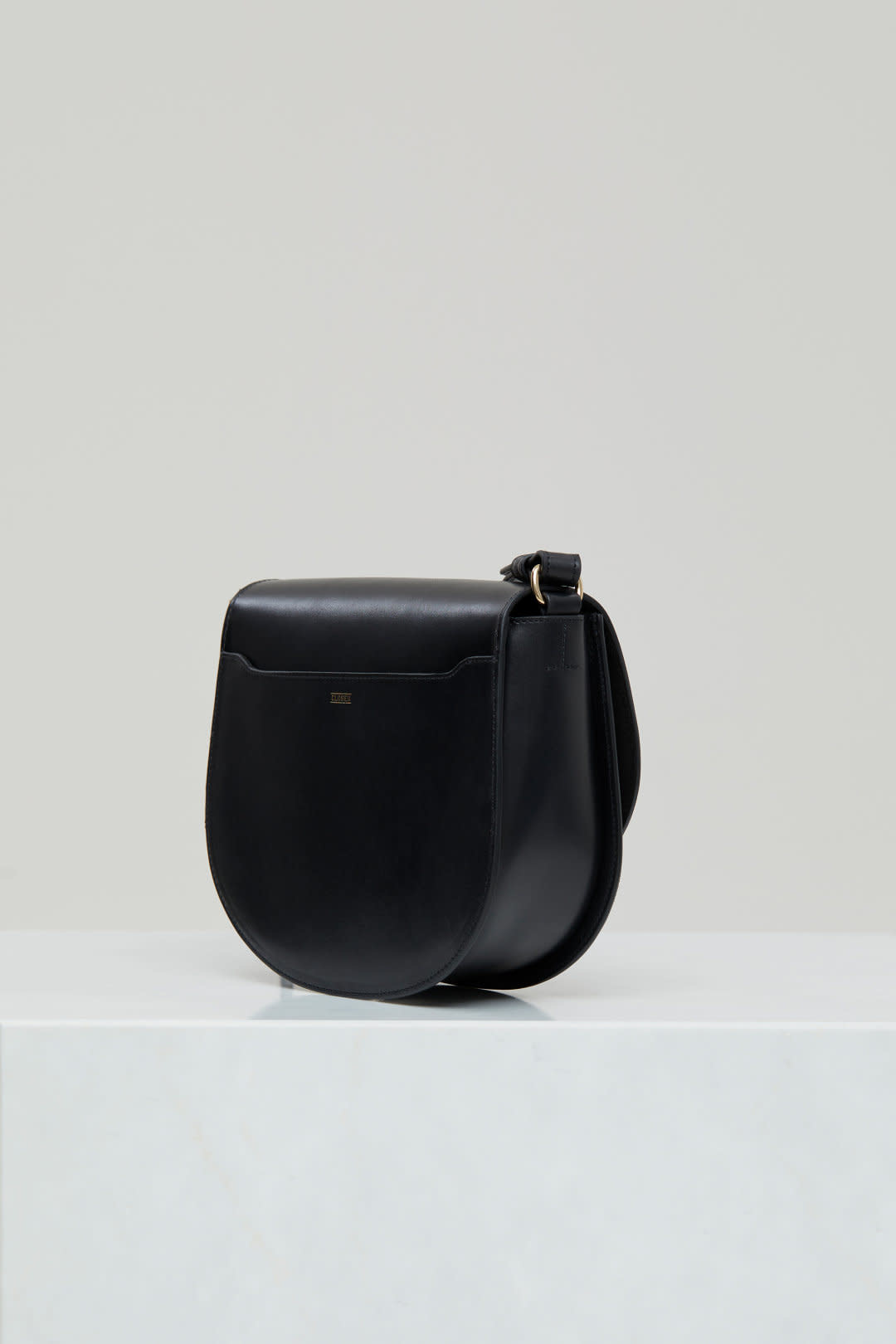 Ally M bag Black leather incl strap-1