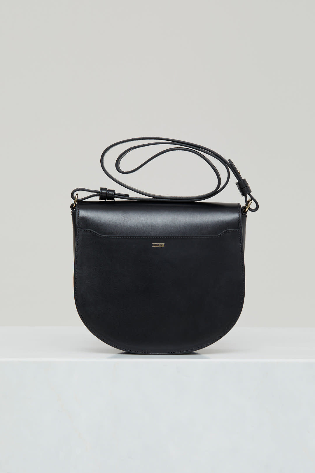 Ally M bag Black leather incl strap-3