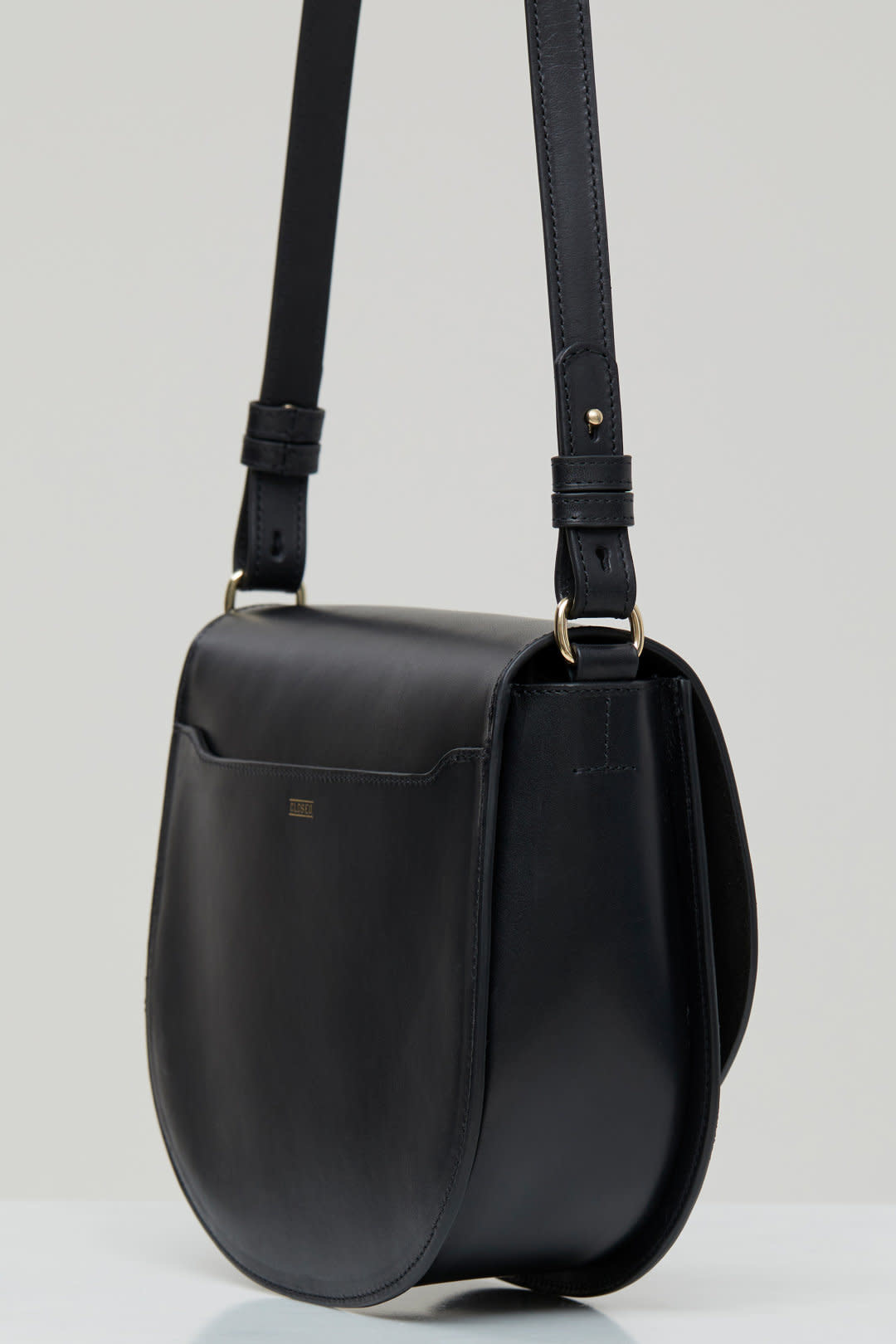 Ally M bag Black leather incl strap-7