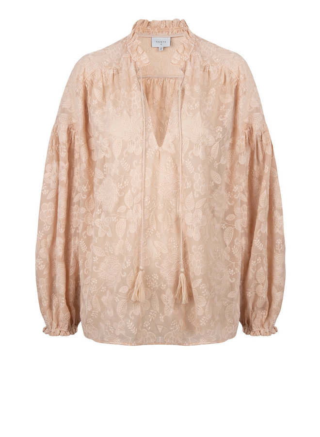 Cameron Embroidered blouse