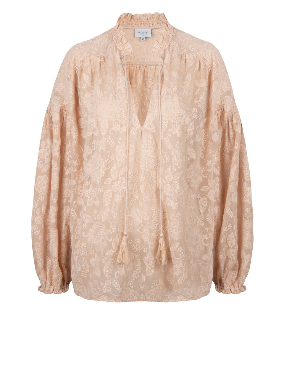 Cameron Embroidered blouse-1