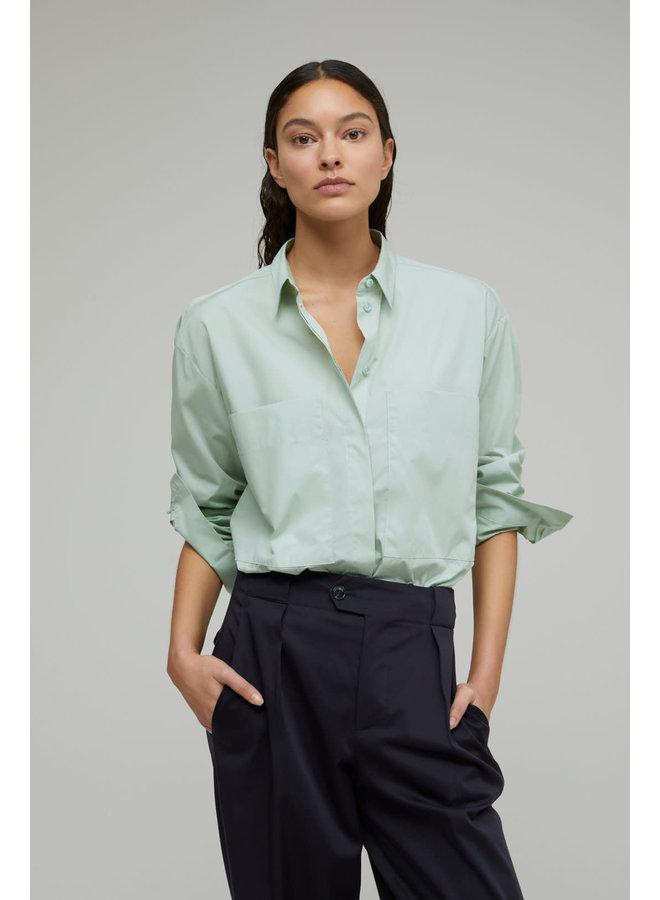Kara blouse sage green