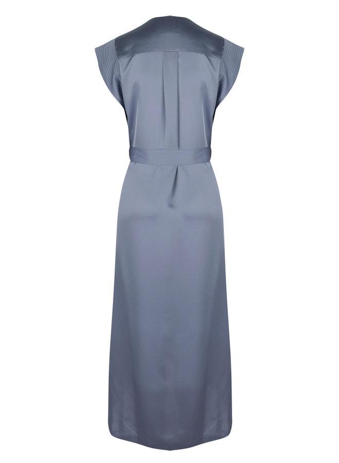 Rouet Dress Splash Blue