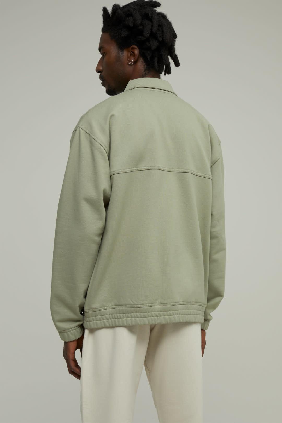 sweat jacket Pale Khaki-3