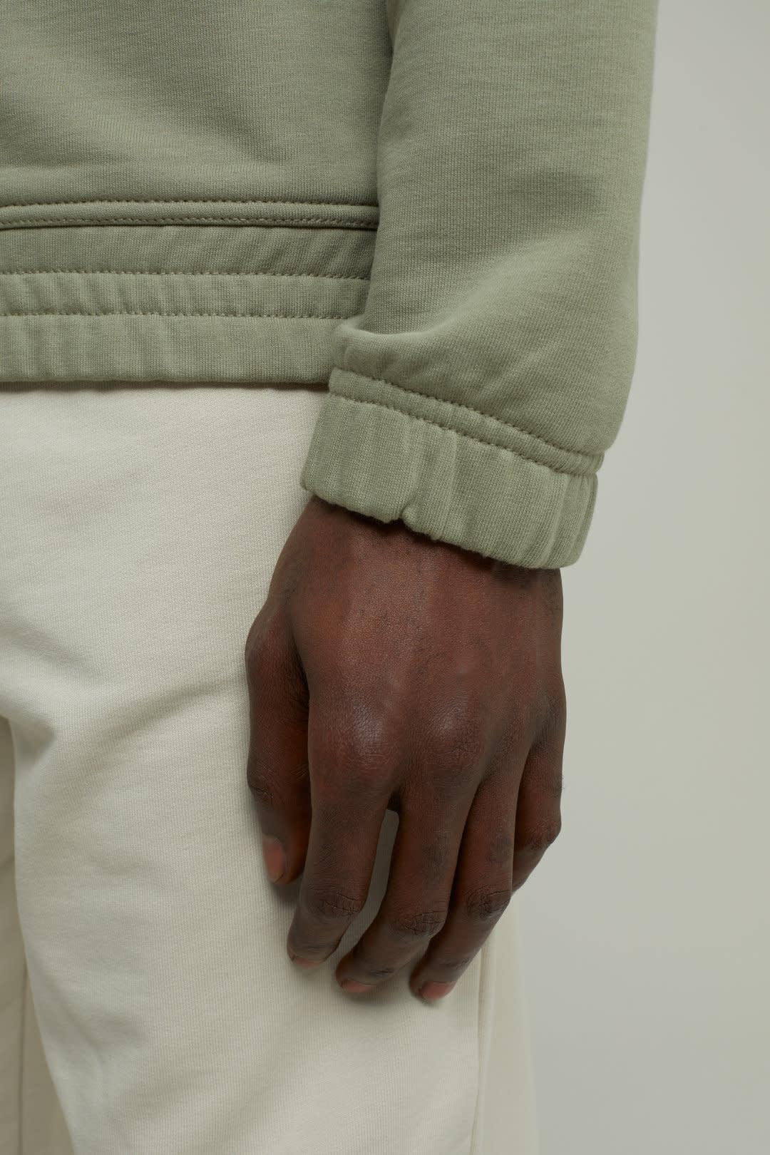 sweat jacket Pale Khaki-4
