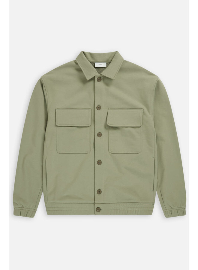 sweat jacket Pale Khaki