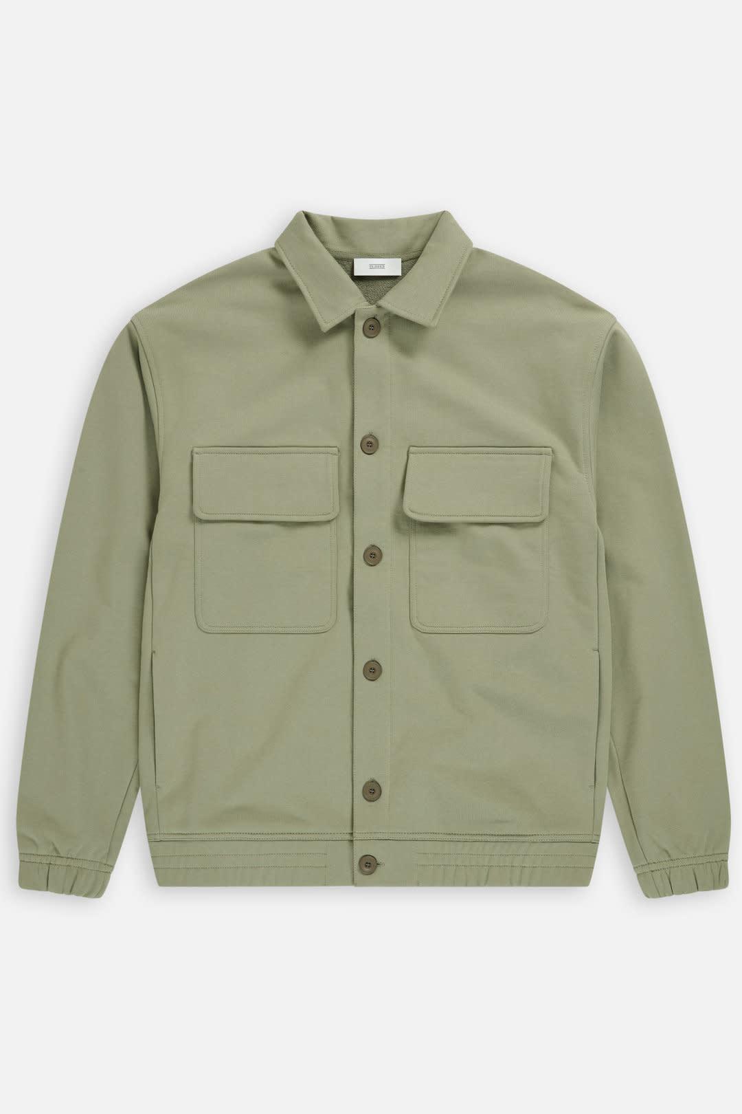 sweat jacket Pale Khaki-6