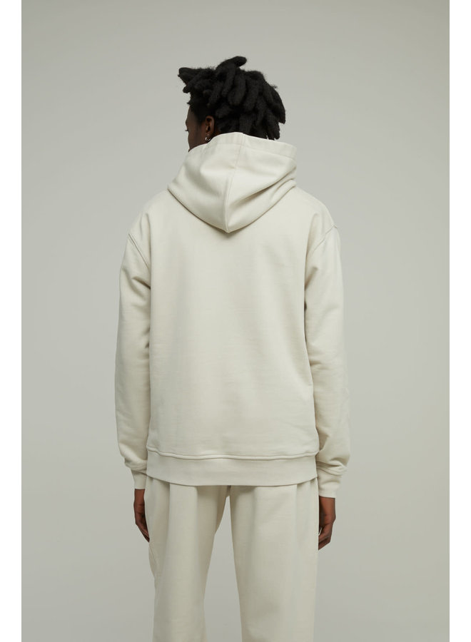 Hoodie Antiqua white