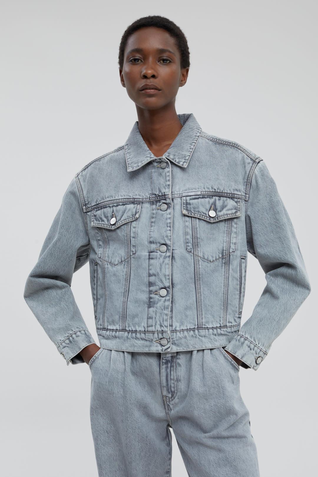 Elin Grey denim Jacket-4
