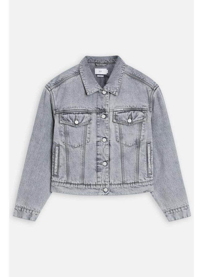 Elin Grey denim Jacket