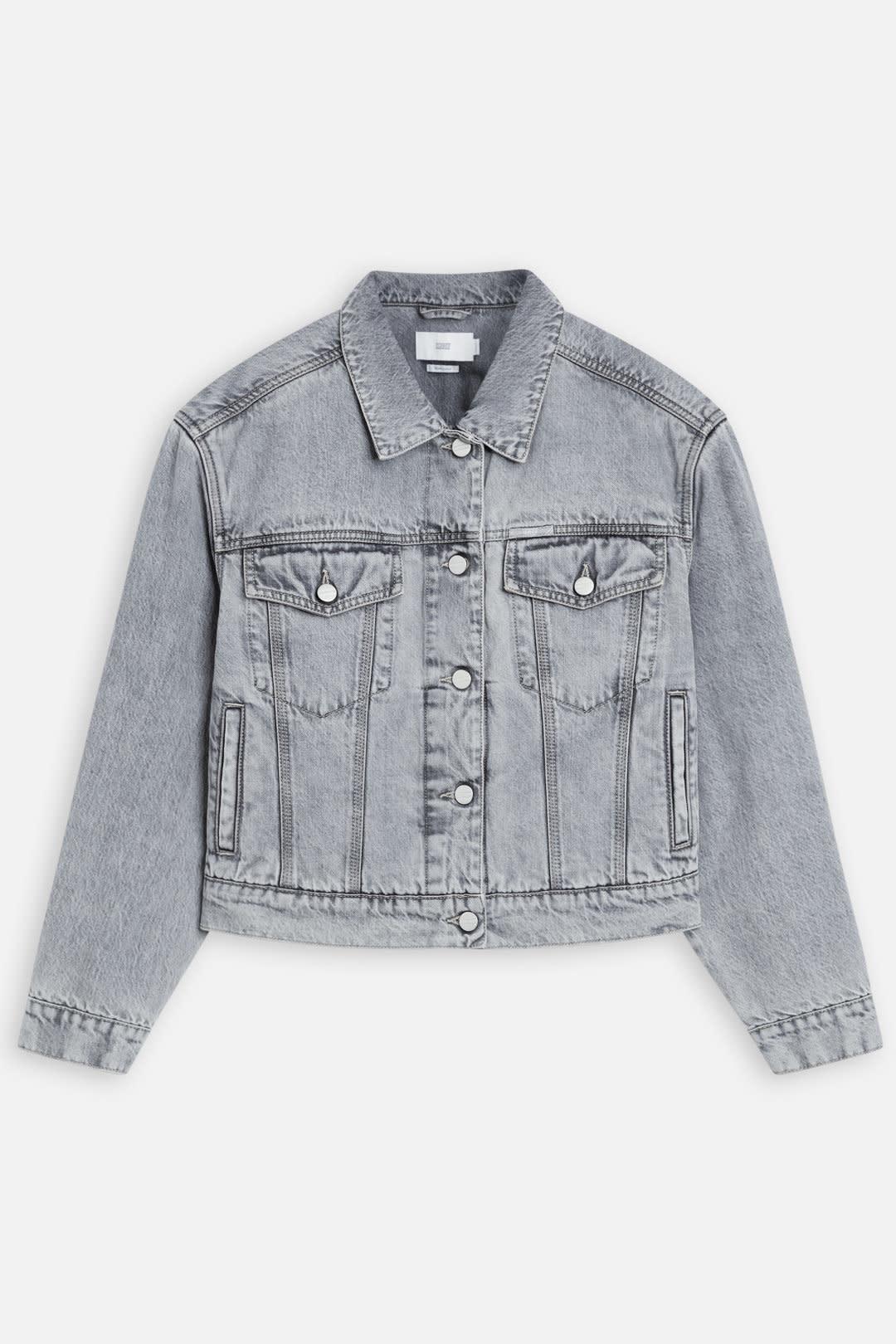 Elin Grey denim Jacket-5