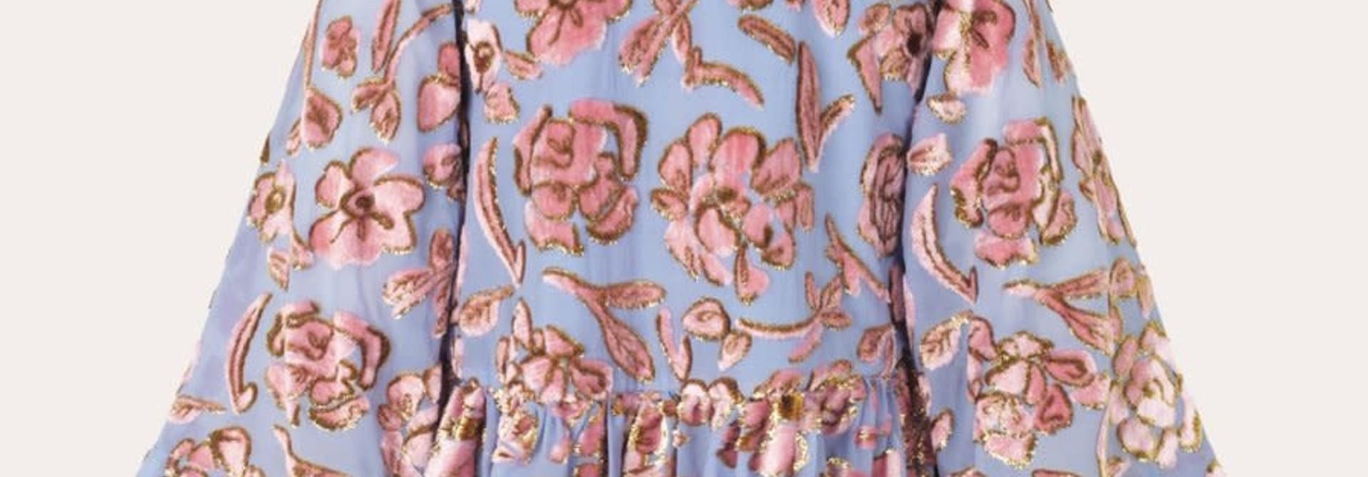 Palmer floral chiffon blouse