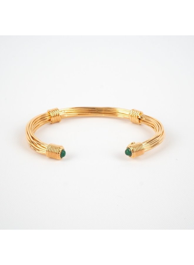 ariana armband green