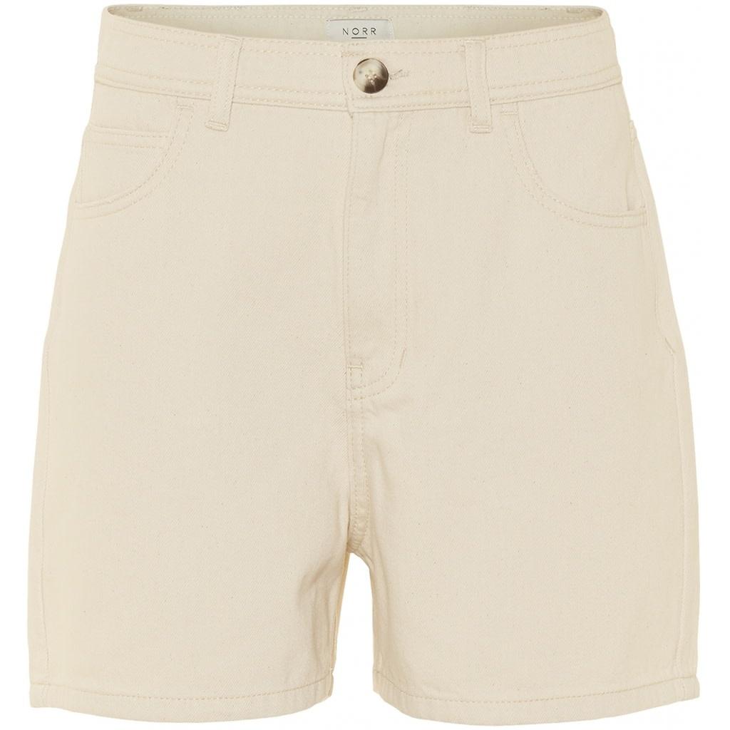 Nolan ecru denim shorts-3