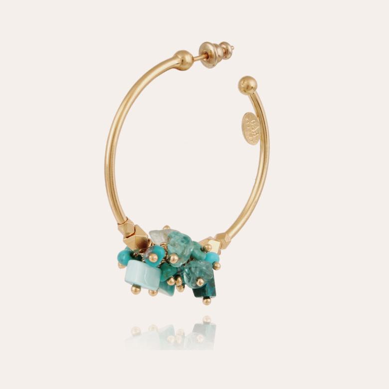 Gaudia  earrings green-1