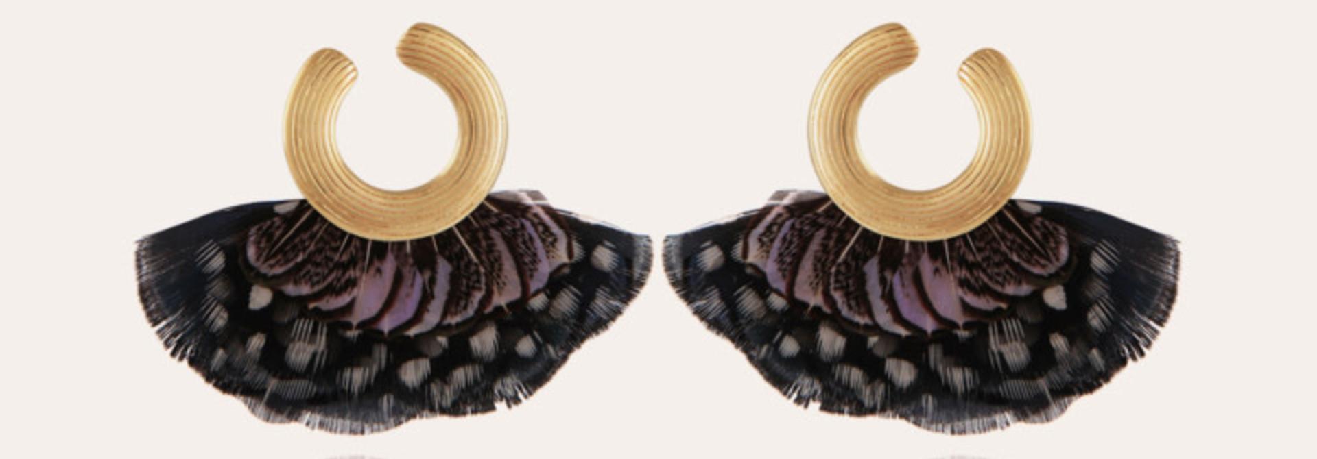 positano earrings