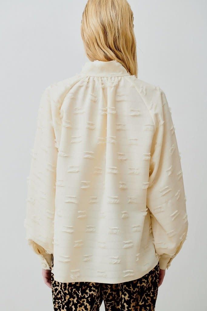 Nathalie blouse Cream-3
