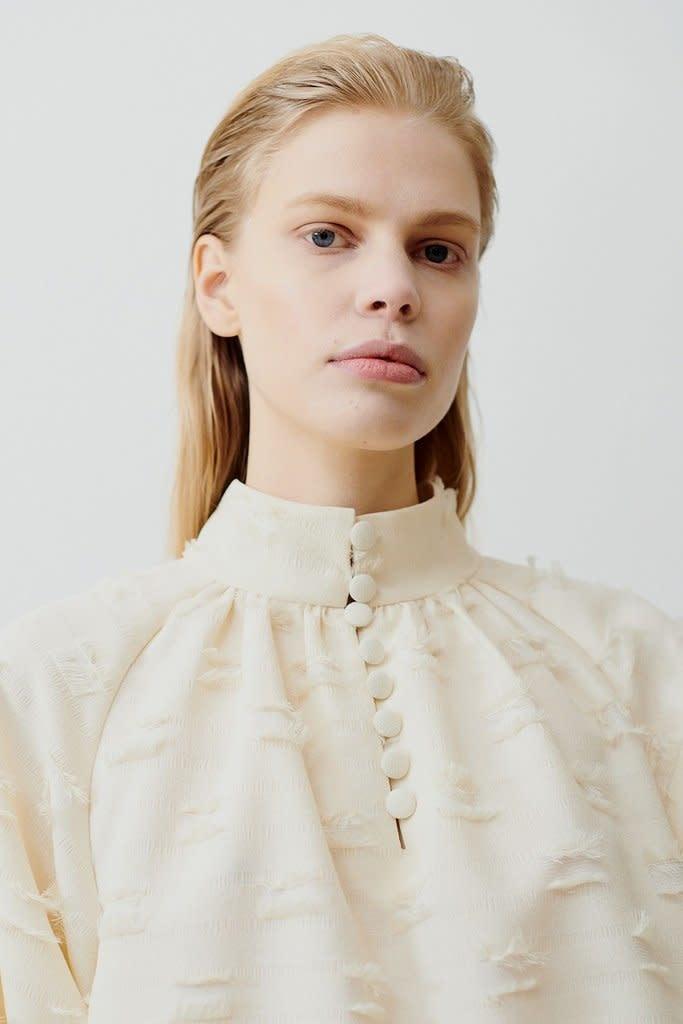 Nathalie blouse Cream-2