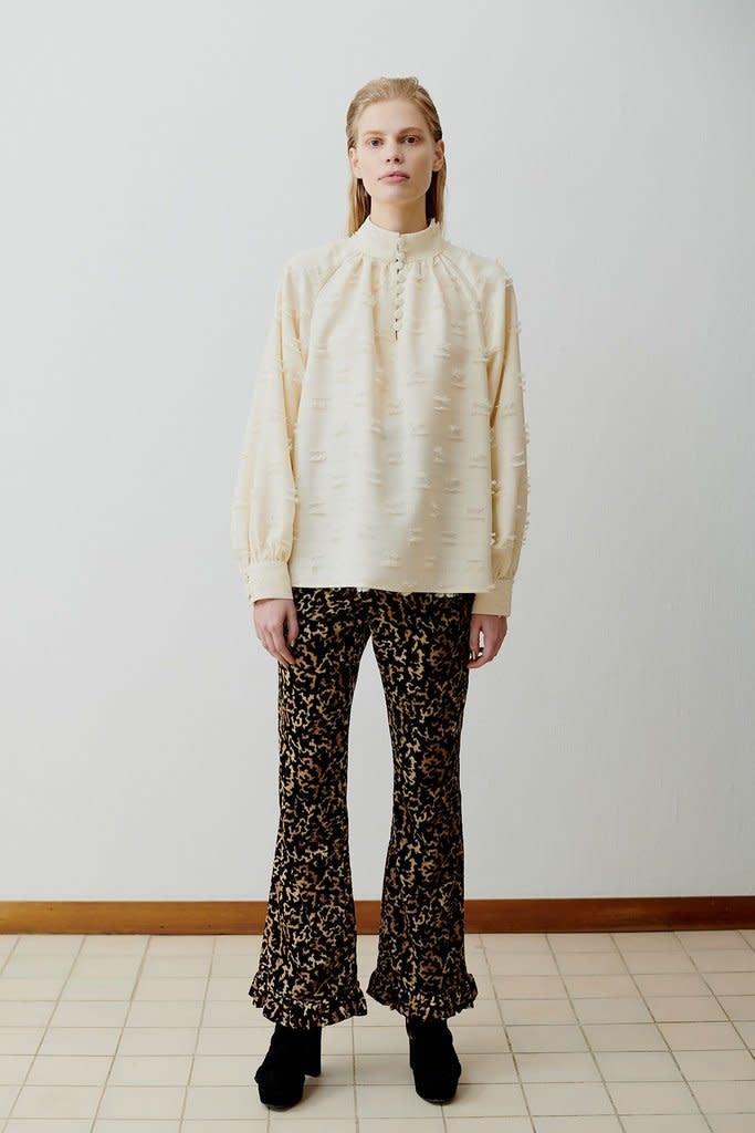 Nathalie blouse Cream-1