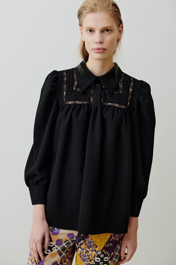 Melissa blouse black-1