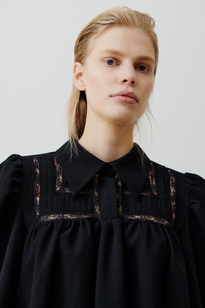 Melissa blouse black-2