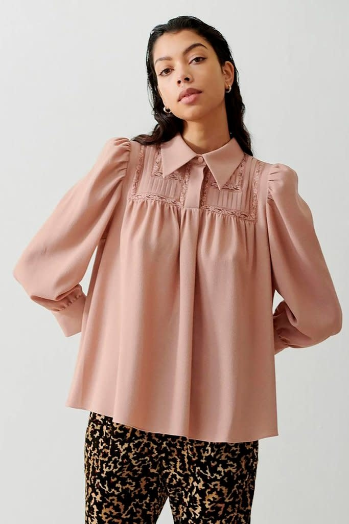Melissa blouse cream-1