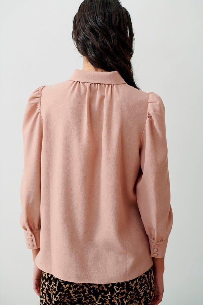Melissa blouse cream-2