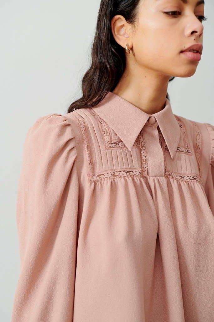 Melissa blouse cream-3