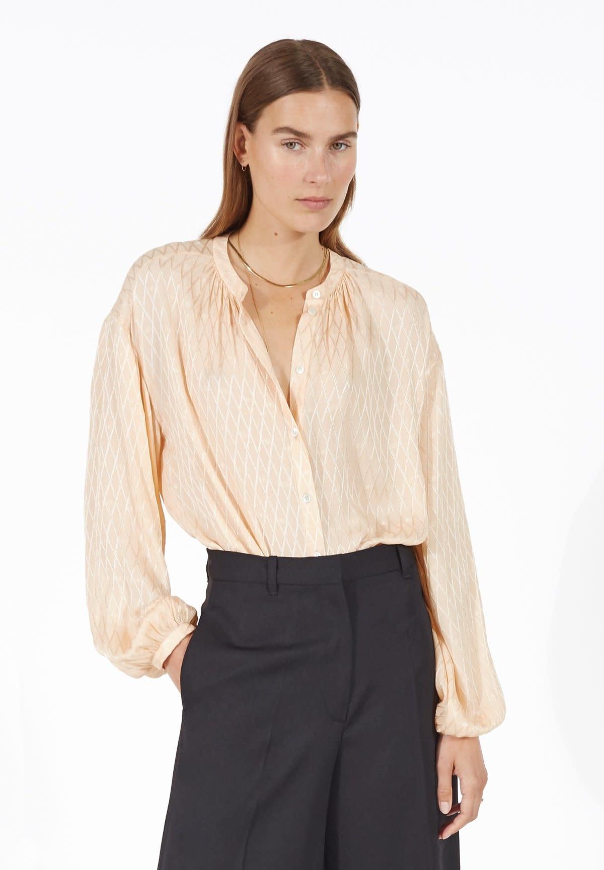 Lorna peach blouse-1