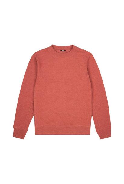 Roger crewneck Sweater Marsala red