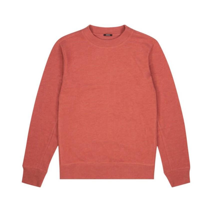 Roger crewneck Sweater Marsala red-1