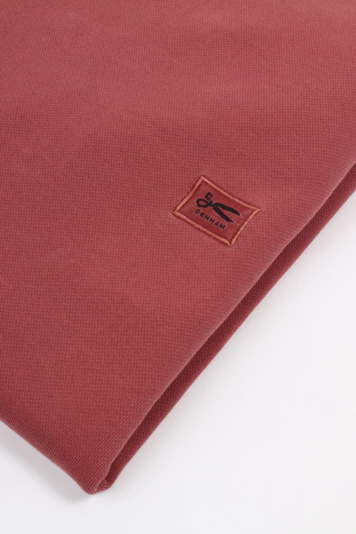 Applique Sweater marsala red-3
