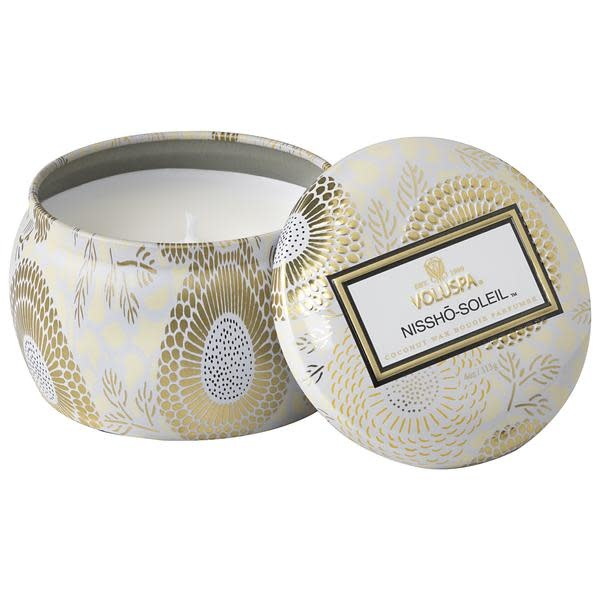 Nissho  soleil Mini Decorative Tin Candle-1