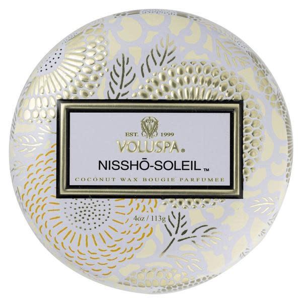 Nissho  soleil Mini Decorative Tin Candle-2