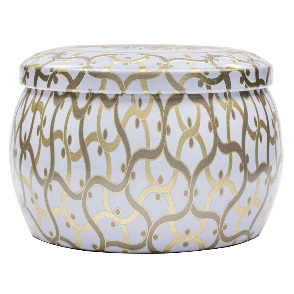 Suede Blanc  Mini Decorative Tin Candle-2