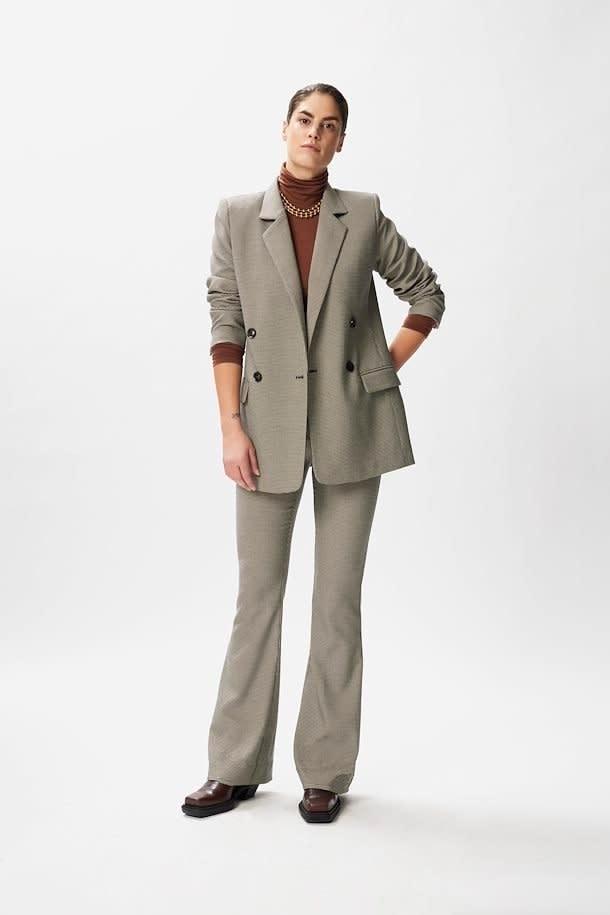 Marisol blazer black/white-2