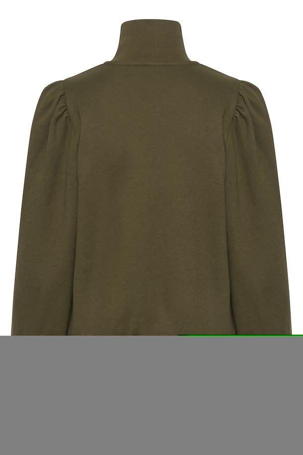 Nankita zipper Sweatshirt forest-2
