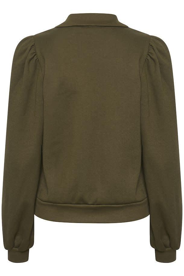Nankita zipper Sweatshirt forest-3