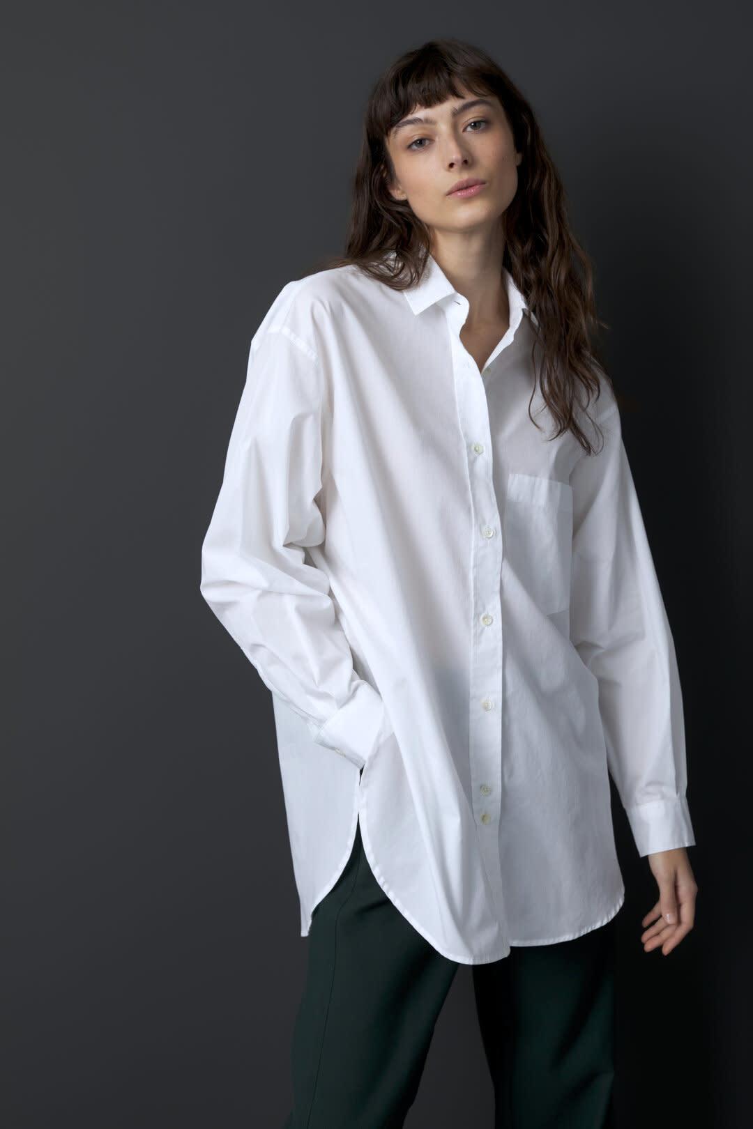 Mira blouse white-3