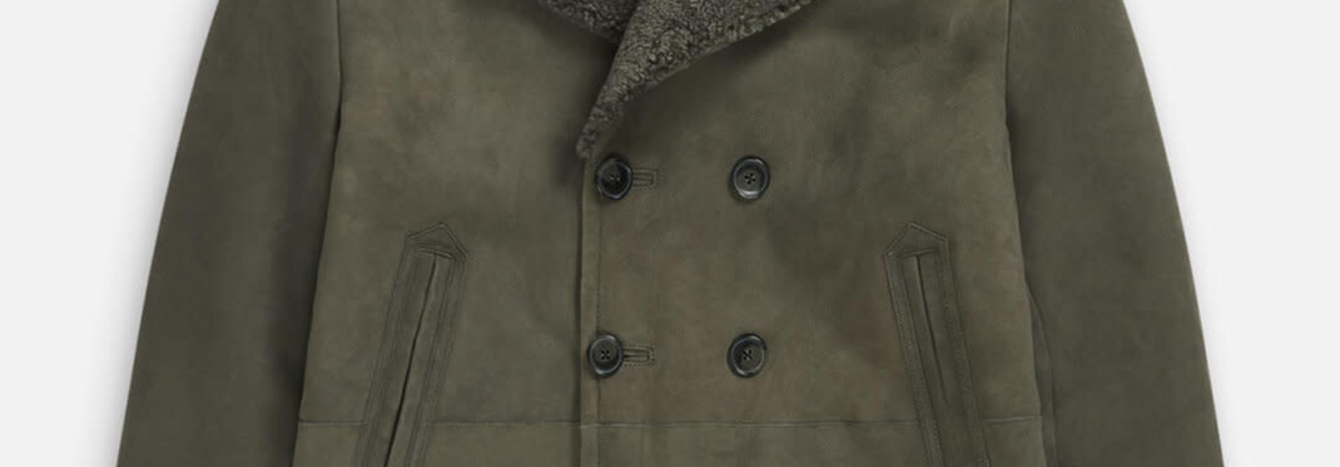 Shearling Jacket Muddy beige