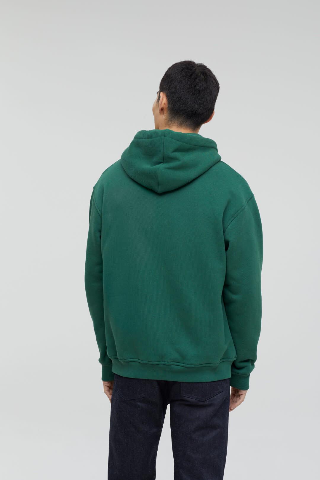 Hoodie fir green-2