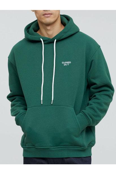 Hoodie fir green