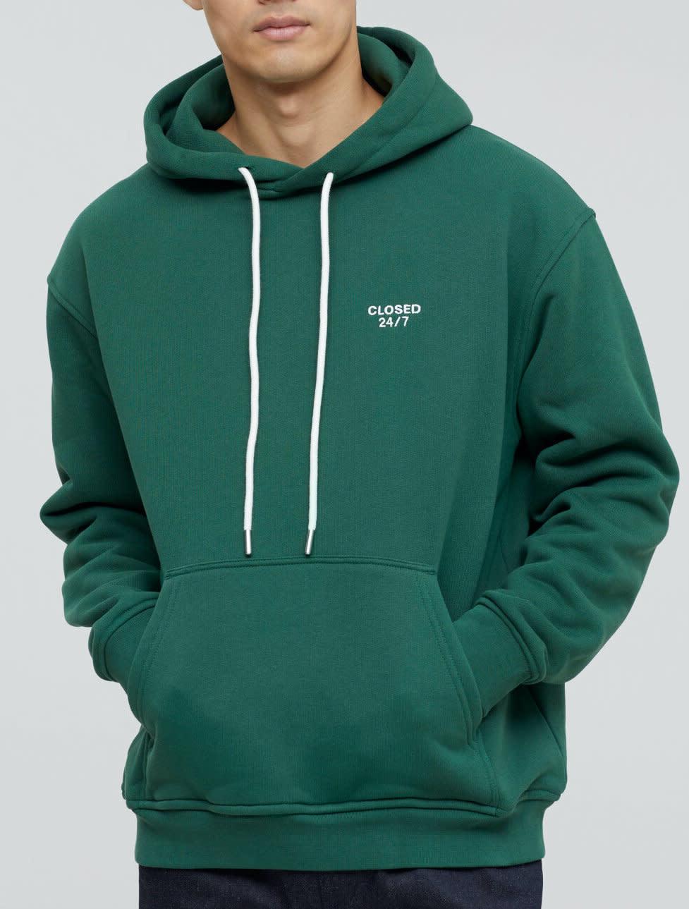 Hoodie fir green-1
