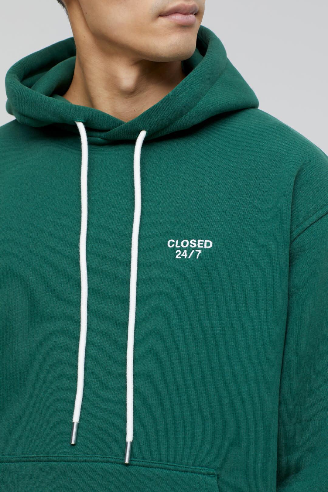 Hoodie fir green-4